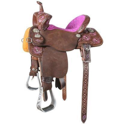 BTR The Guardian 12 1/2 Inch Barrel Racing Saddle