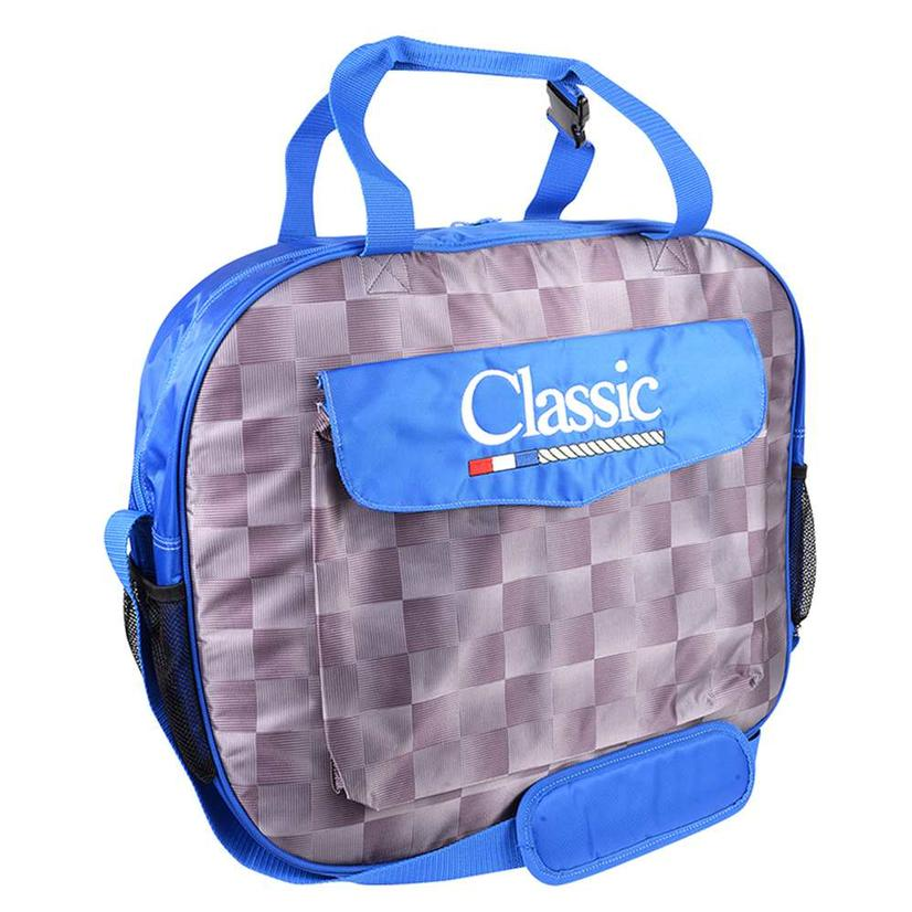 Classic Basic Rope Bag CHECK/ROYAL