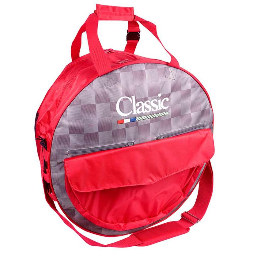 Classic Deluxe Rope Bag CHECK/RED