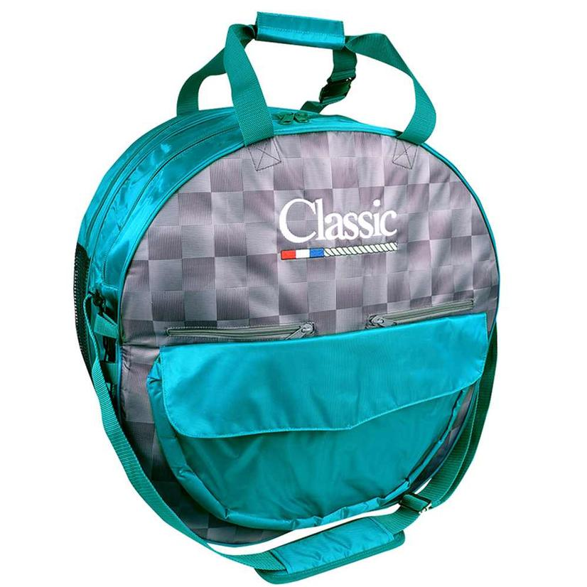 Classic Deluxe Rope Bag CHECK/TEAL