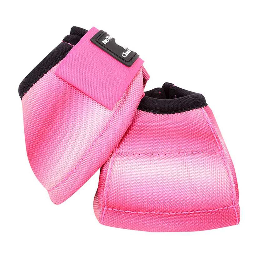 Classic Equine No Turn Bell Boots PINK_FUSION