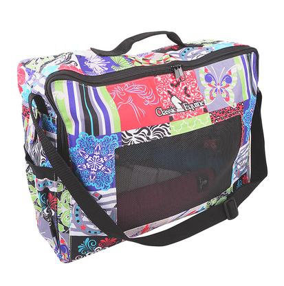 Classic Equine Boot & Accessory Tote Bag PATCHWORK