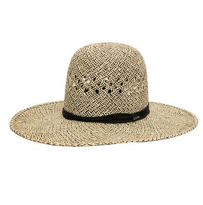 Resistol 10X Natural & Black Boyd Straw Hat