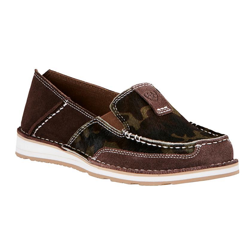 Ariat Womens Dark Chocolate Camo Cruiser Shoe