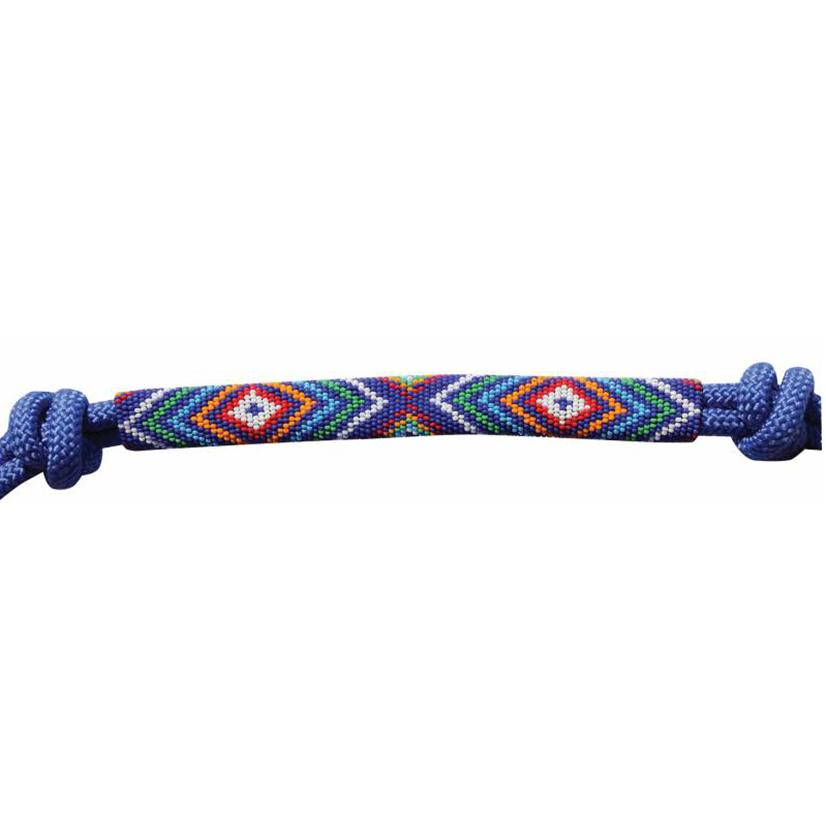 Professional's Choice Beaded Rope Halter ROYAL