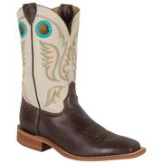 Justin Bent Rail Chocolate Burnished America Men's Boots