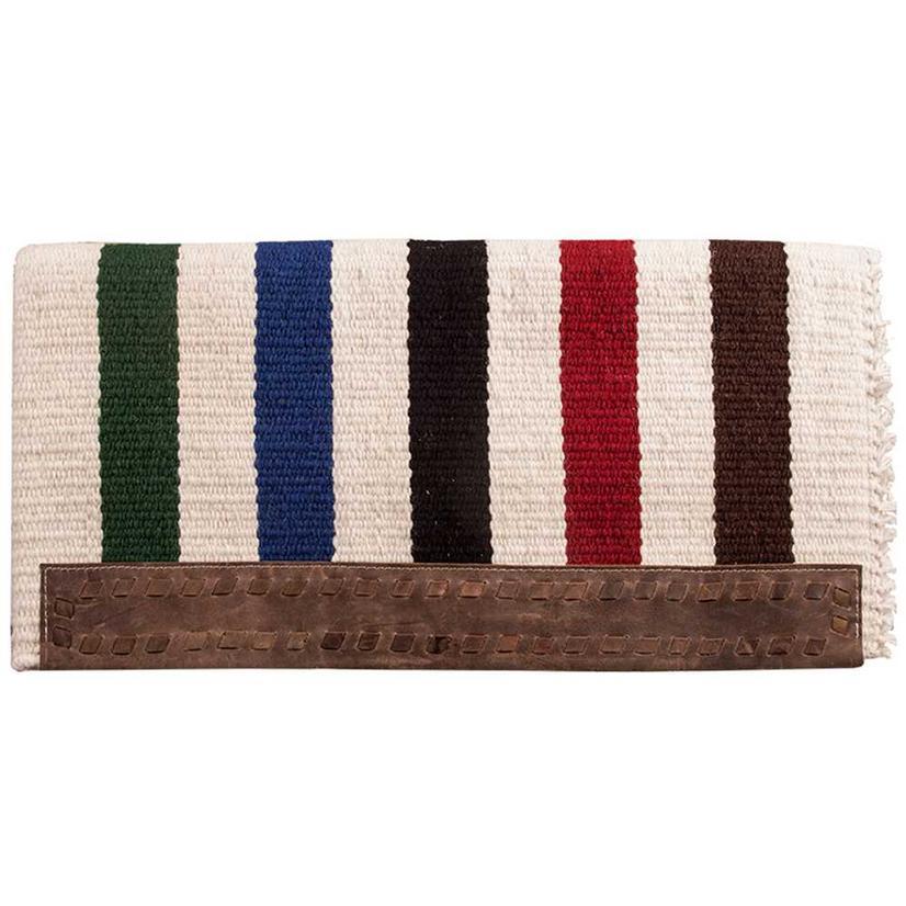 Casa Zia Saddle Blanket With Fringe