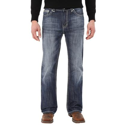 Rock & Roll Cowboy Mens Double Barrel Relaxed Jeans