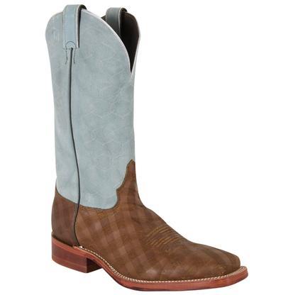 Justin Bent Rail Briar Checkmate Boots