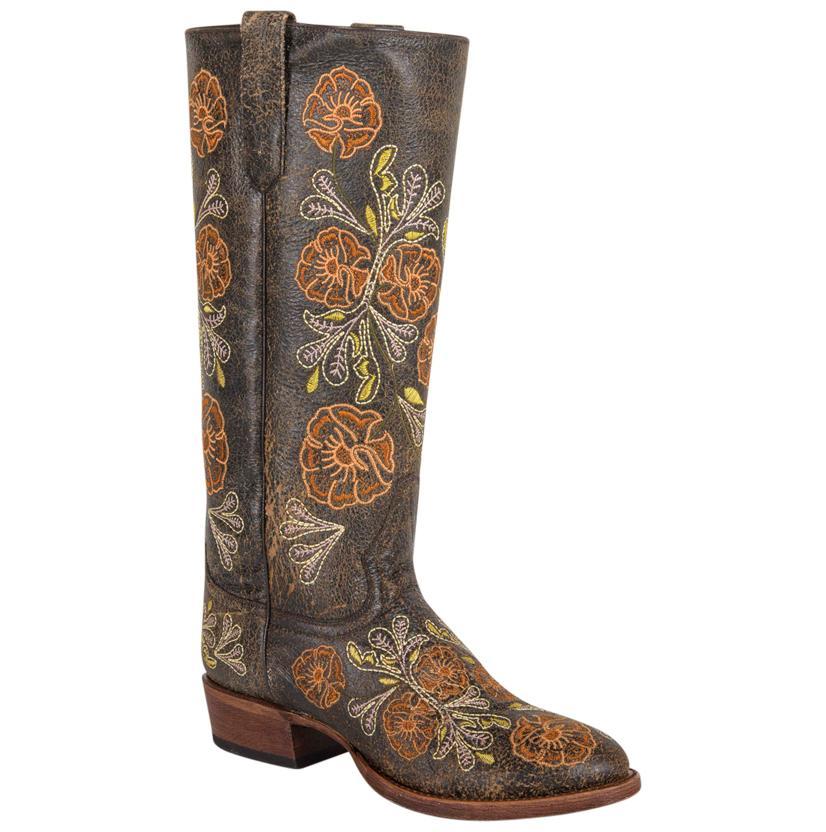 Macie Bean Rivera Brown Tall Western Boots