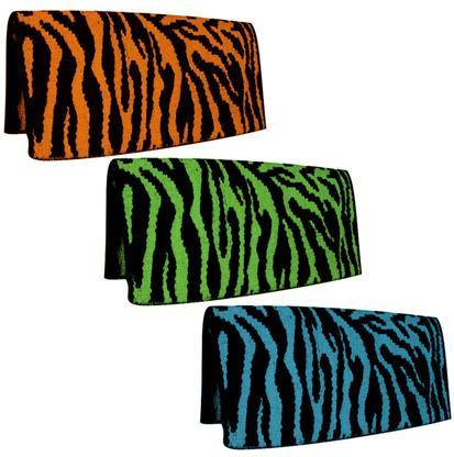 Mustang Zebra Saddle Blanket