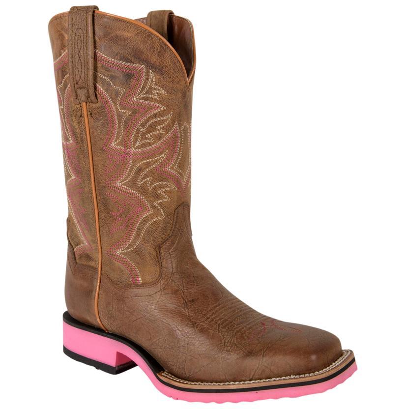 Dan Post Tan Old Map Women's Boots