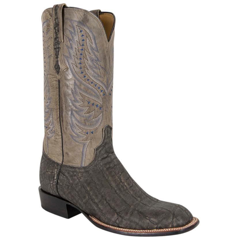 Lucchese Mens Cade Elephant Horseman Boots