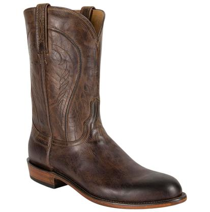 Lucchese Heritage Chocolate Burnished Mad Dog Goat Boot