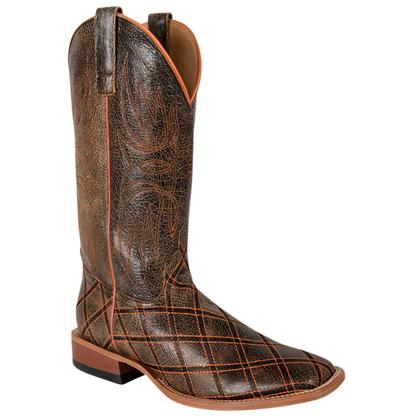 Horsepower Tan Bombardier Men's Cowboy Boots