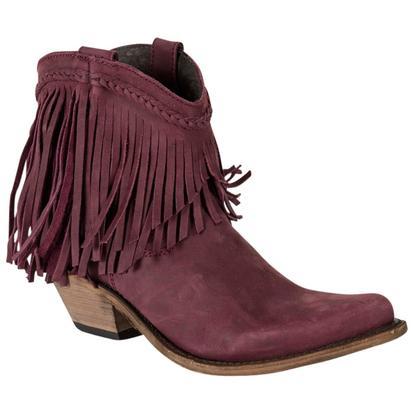 Liberty Black Women's Vegas T Moro Fringe Boots