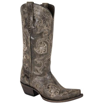 Lucchese Ladies Rustic Grey Boots