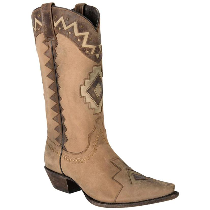 Caborca Vintage Bovine Touched Chocolate Boots