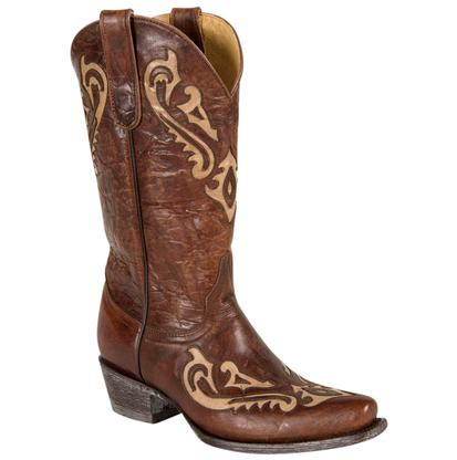 Old Gringo Korina Chocolate Bone Western Boots