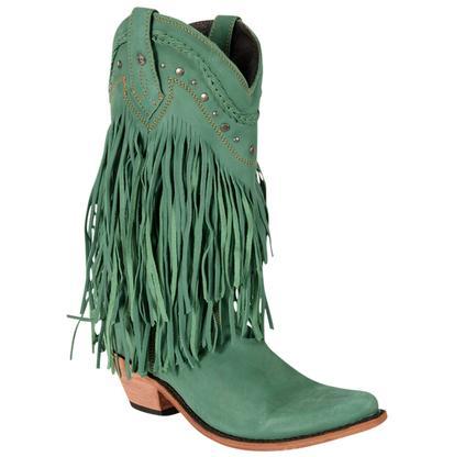 Liberty Black Vegas Turquoise Western Boots