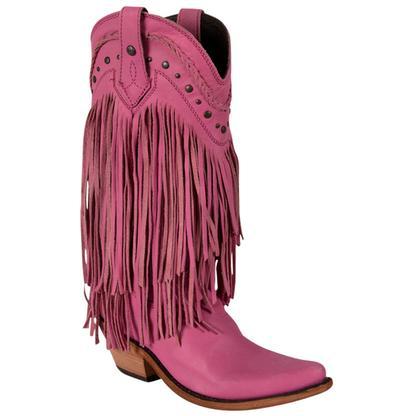 Liberty Black Vegas Lipstick Western Boots