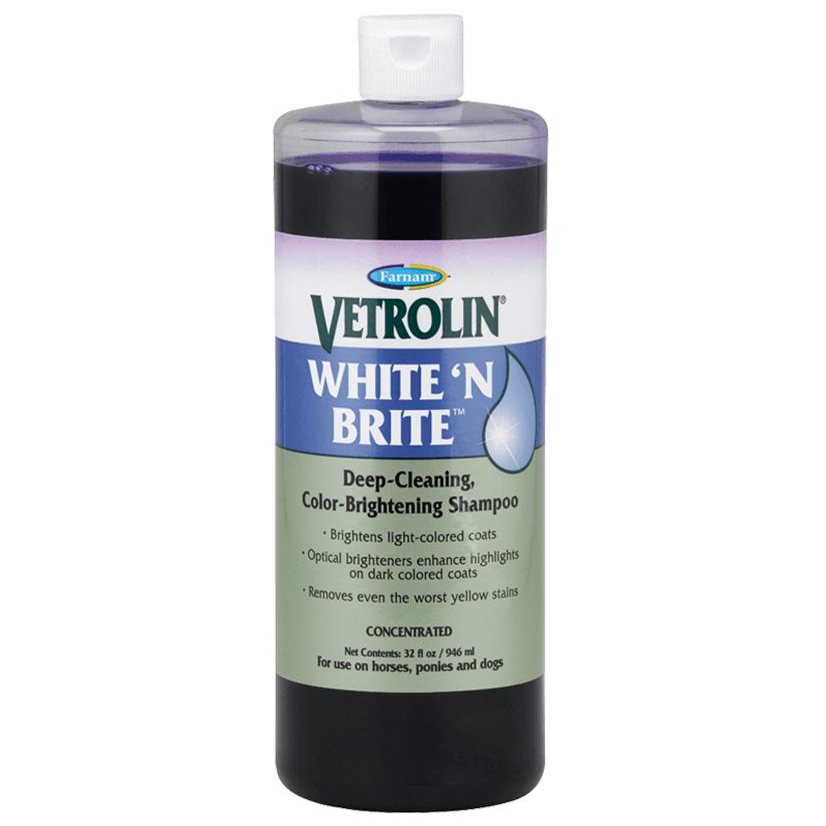 Farnam Vetrolin White ' N Brite Shampoo 32 Oz.