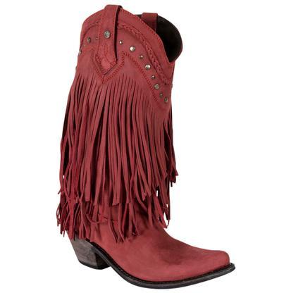 Liberty Black Vegas Rojo Western Boots