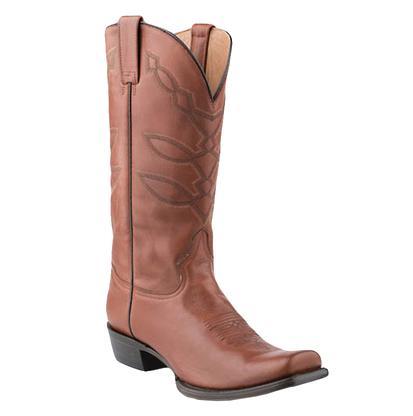 Stetson Western Men's Hog Nose Cedar Boots
