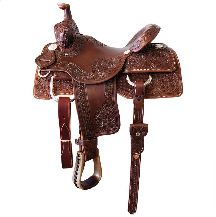STT Kid's Ranch Cutter Saddle