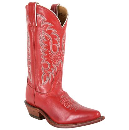 Nocona Women's Red Soft Ice Boots