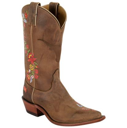 STT Custom Painted Women's Collegiate Western Boot