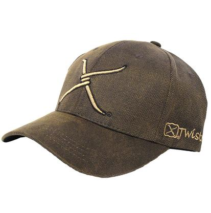 Twisted X Oilcloth Cap Brown