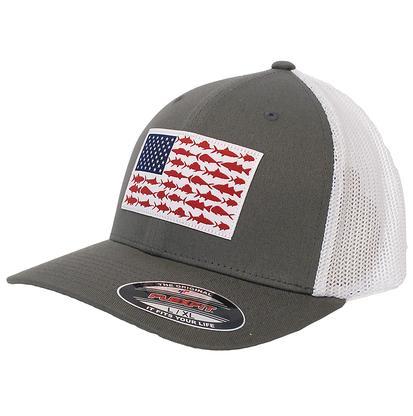 Columbia Sportswear Men's Fishing Flag Mesh Ball Cap