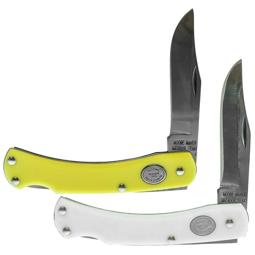 Single Blade Lockback Pocket Knife 3 5/8