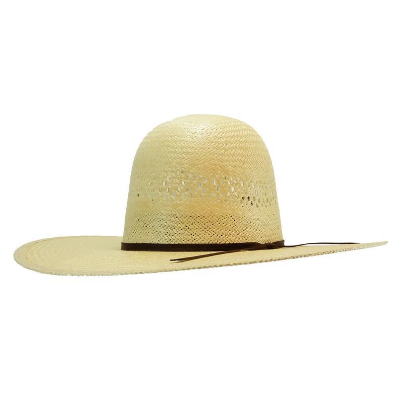 77285e88 Rodeo King Jute Straw Cowboy Hat 4 12 Inch Brim