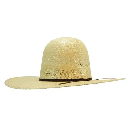 Rodeo King Jute Straw Cowboy Hat 4 1/2 Inch Brim