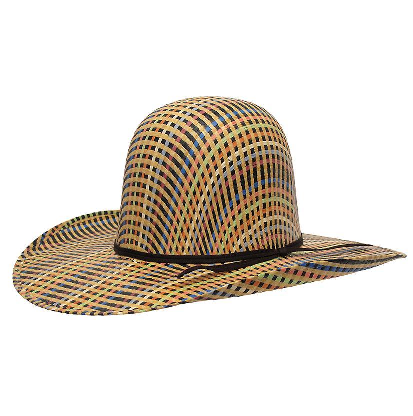 Rodeo King Rainbow Straw Cowboy Hat