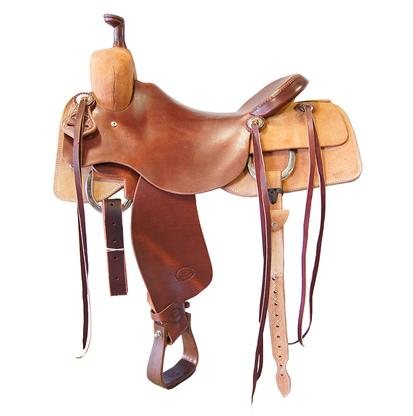 STT Ranch Cutter Saddle Slick Out and Rough Out