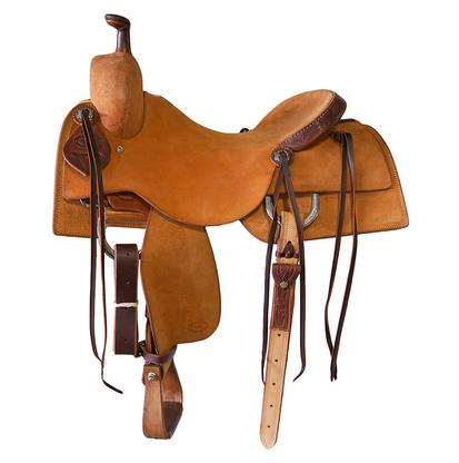 STT Ranch Cutter Tooled Cantle