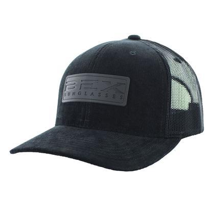 Bex Black Corduroy Cap
