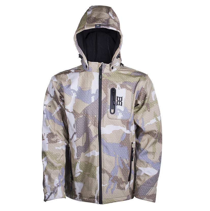 Bex Mens Twenty Four Camo Jacket