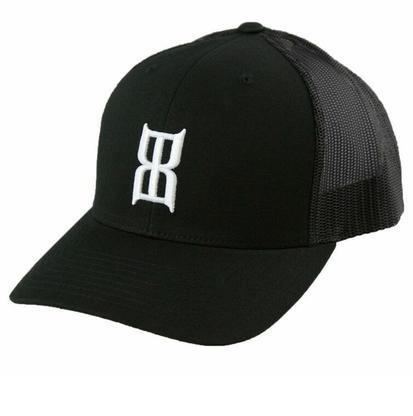 Bex Black Steel Baseball Cap