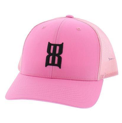 BEX Pink Logo Trucker Hat