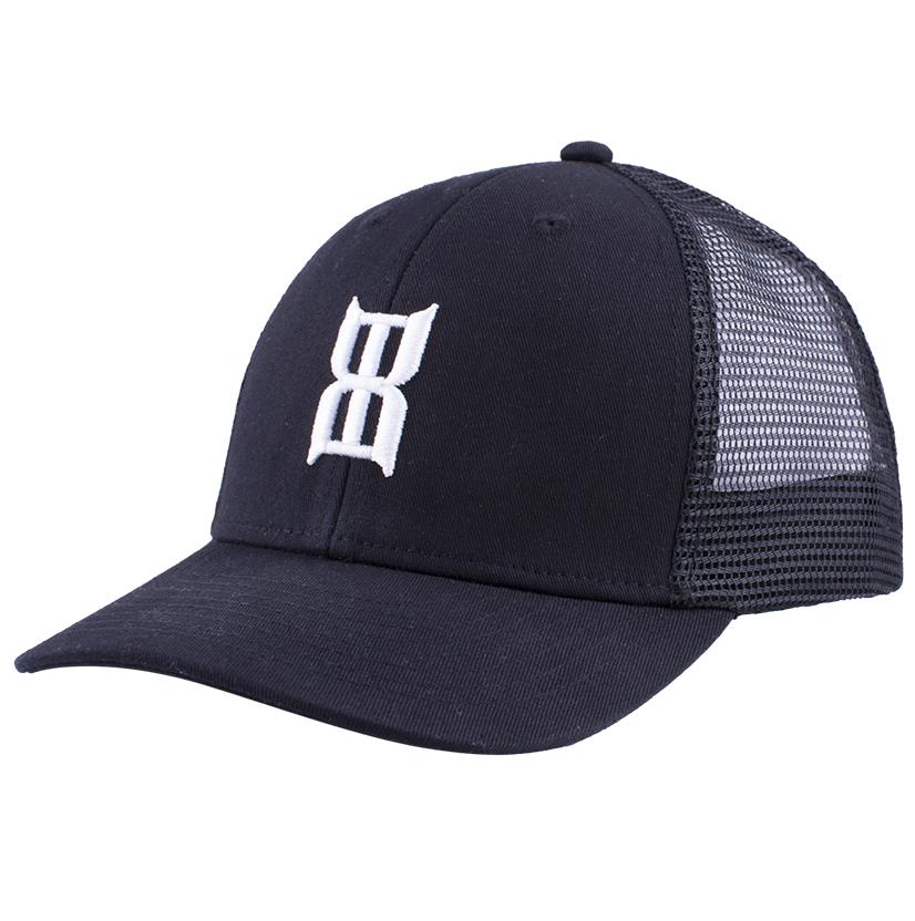 Bex Black Steel Youth Baseball Cap