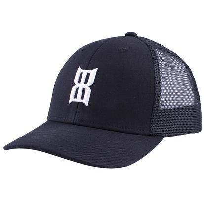 Bex Black Steel Youth Baseball Cap