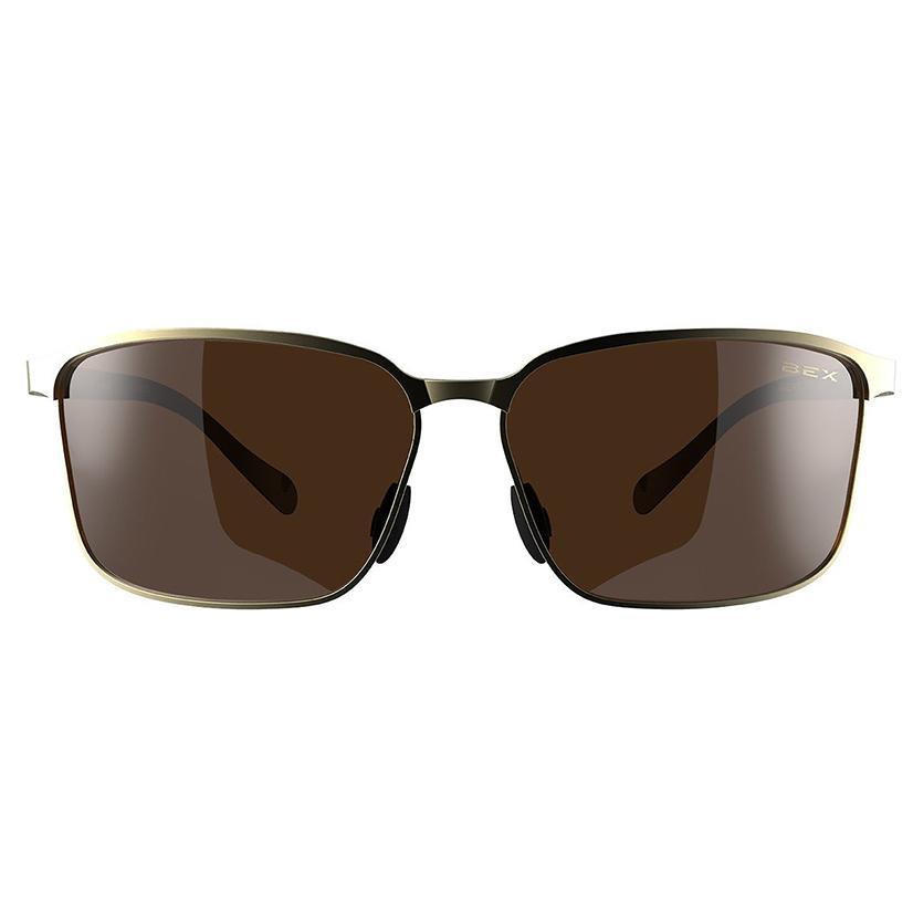 Bex Shuyk Sunglasses - Gold/Amber