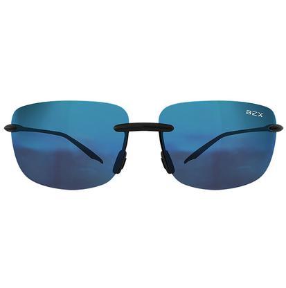 Bex Arstytk III Sunglasses - Black/Green Blue Flash