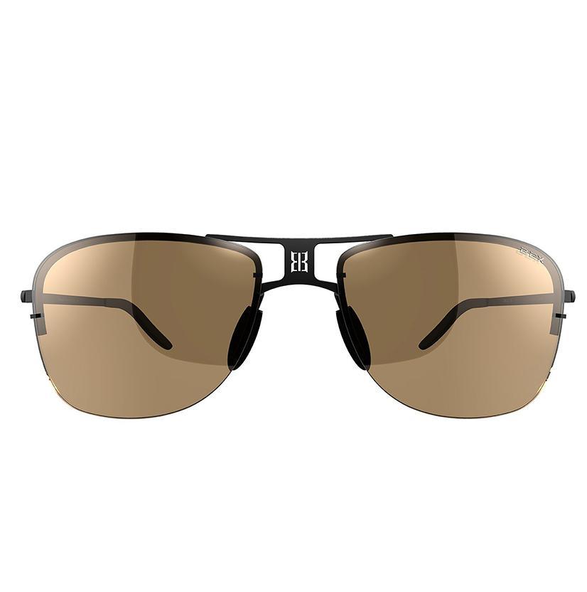 Bex Grayfyn Sunglasses - Black/Brown