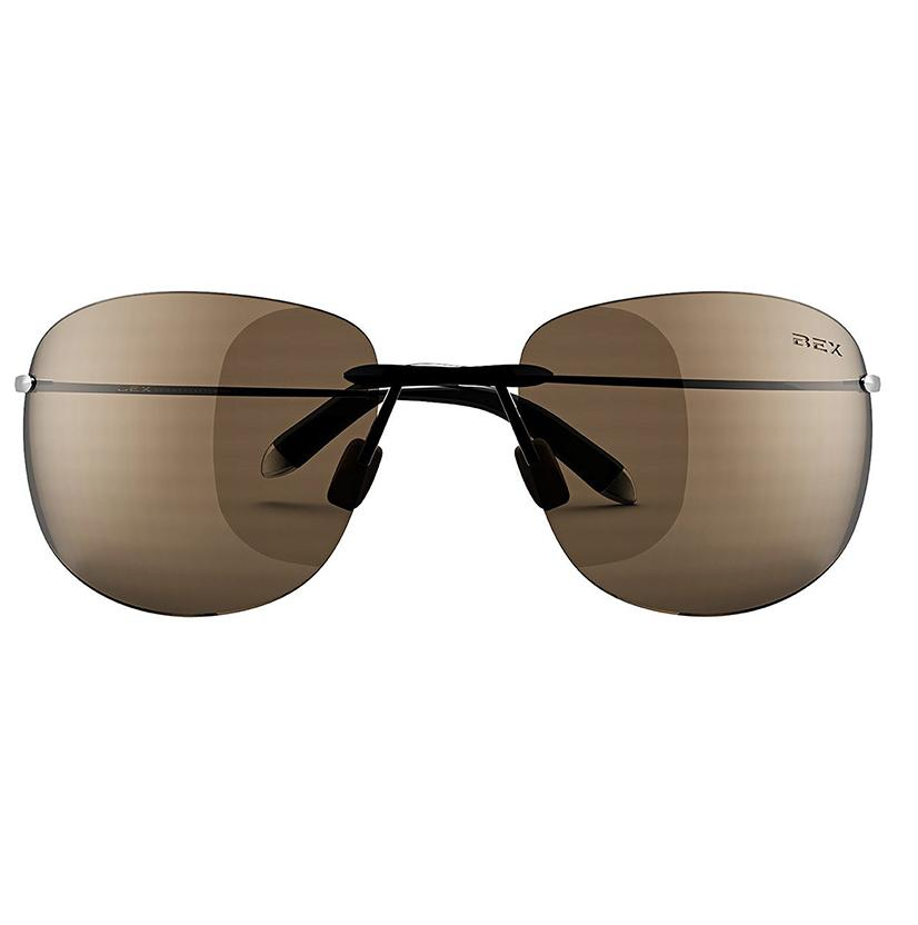 Bex Lynnson Sunglasses - Black/Brown