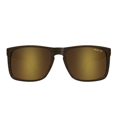Bex Jaebyrd II Sunglasses - Brown/Gold